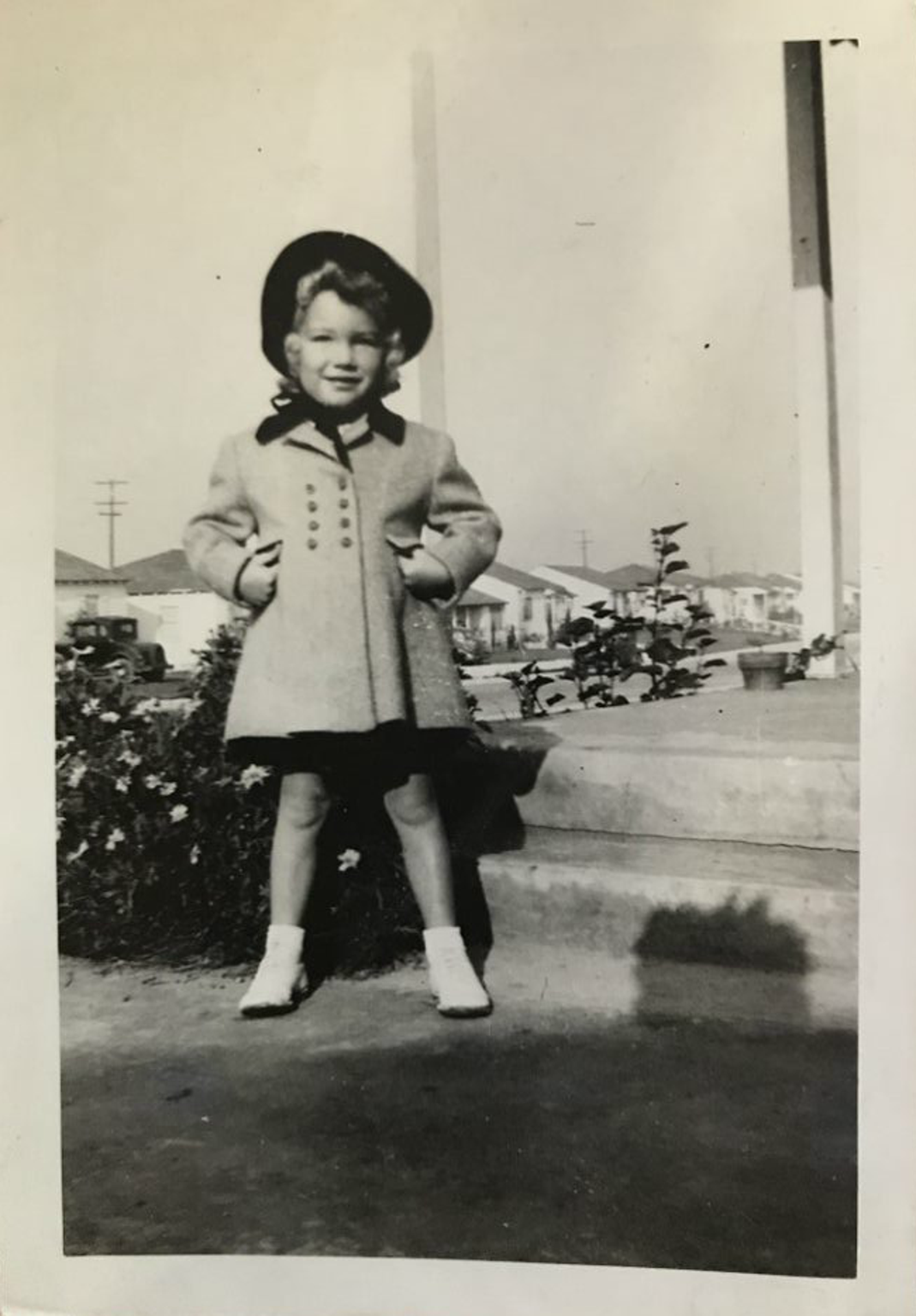 Sharon Elliott as a child in an undated family photo.
