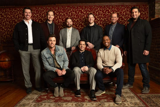 "Straight No Chaser ""was really just a chance to take a shot at living out our dreams and living out this passion that we have of being musicians,"" says Seggie Isho (right)."