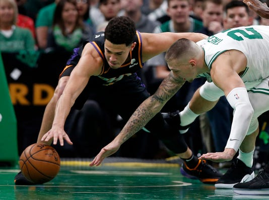 Nba Phoenix Suns At Boston Celtics