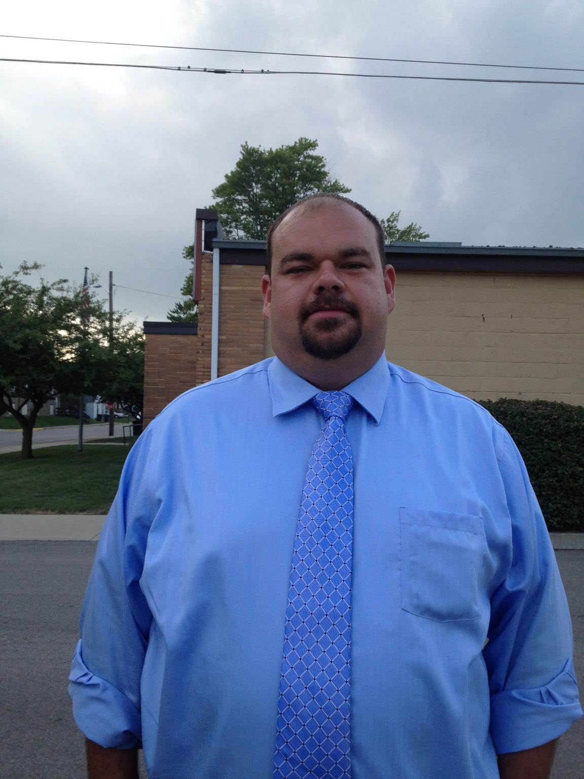 Dave Faber, Sandusky city manager, lives within the confines of the Sanilac County seat.