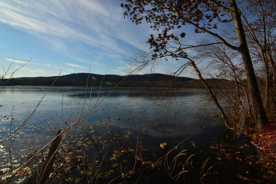 Follow the Red Trail around Esopus Lake for a shoreline stroll.