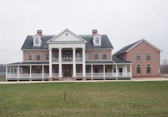 The Wishard mansion north of Greencastle is being turned into Monarch's Way, a residential Christian school for at-risk girls.