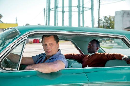 "Viggo Mortensen, left, and Mahershala Ali star in ""Green Book."" The movie opens Dec. 25 at R/C Hanover Movies."