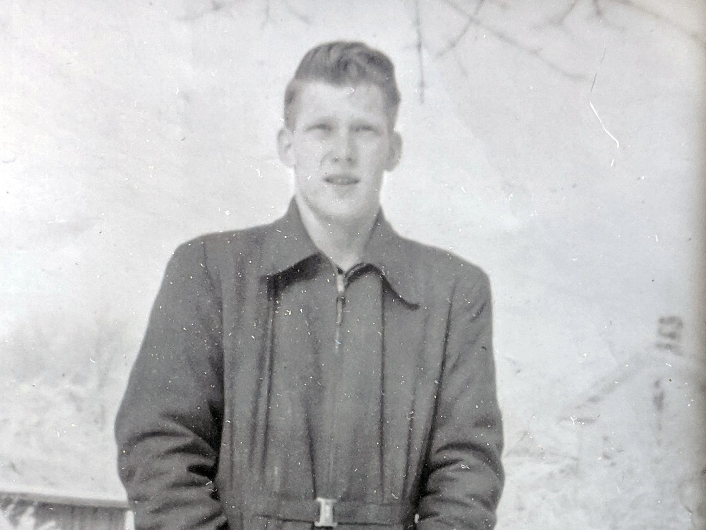 An undated photo of John McHenry in his youth.