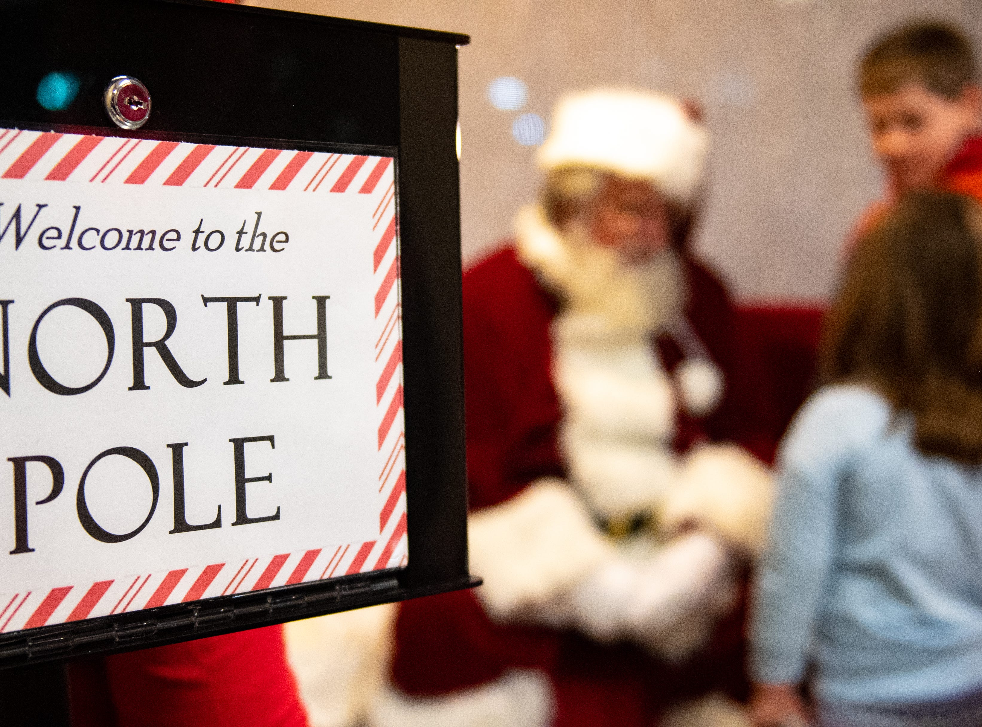 On Wednesday, Chick-fil-A in Springettsbury Township partnered with Easterseals Western and Central Pennsylvania - York Division to put on the first Dinner with Santa and Santa Cow event.