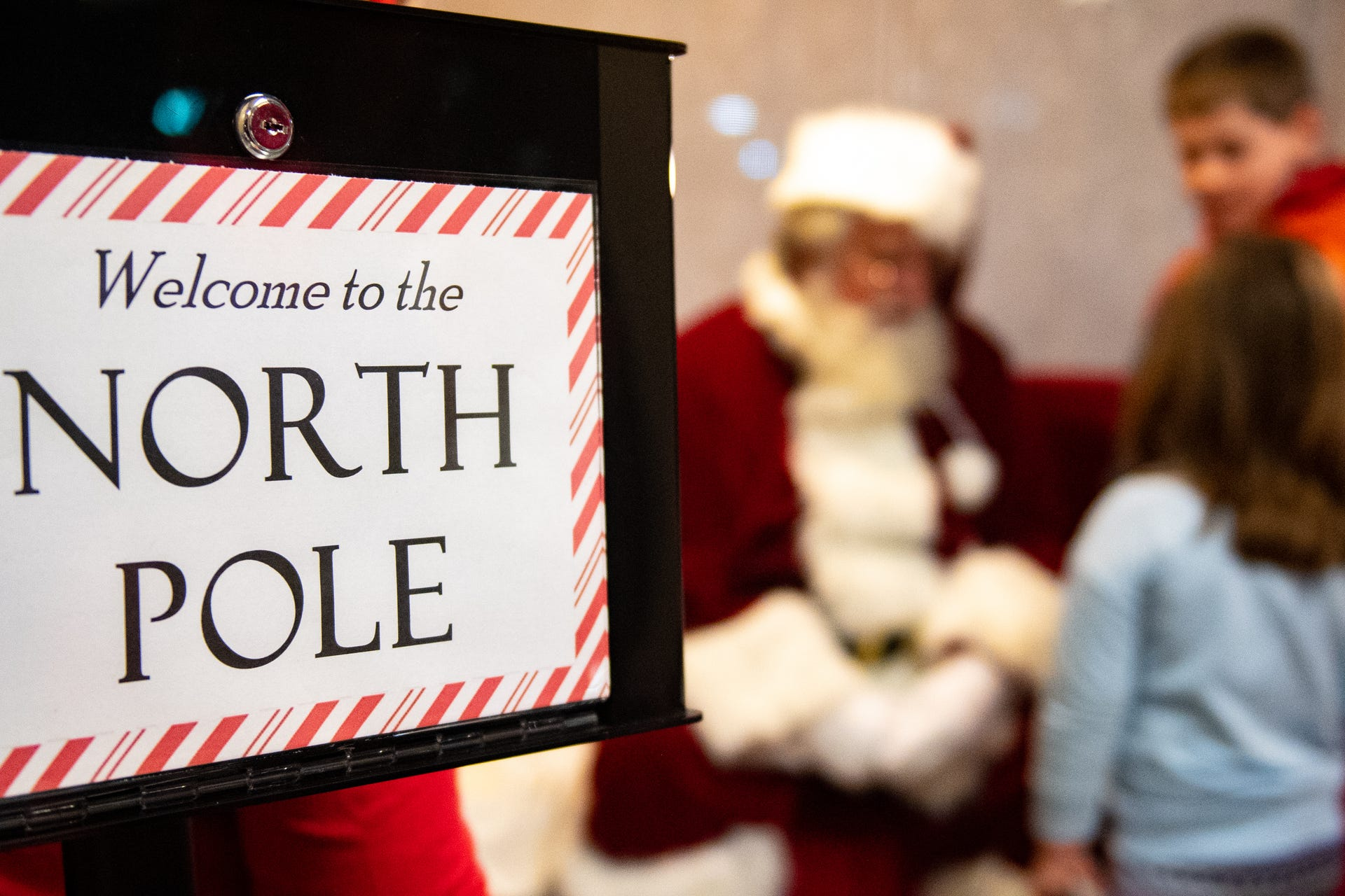 Photos: Santa, Sign Language and Chick-fil-A come together in