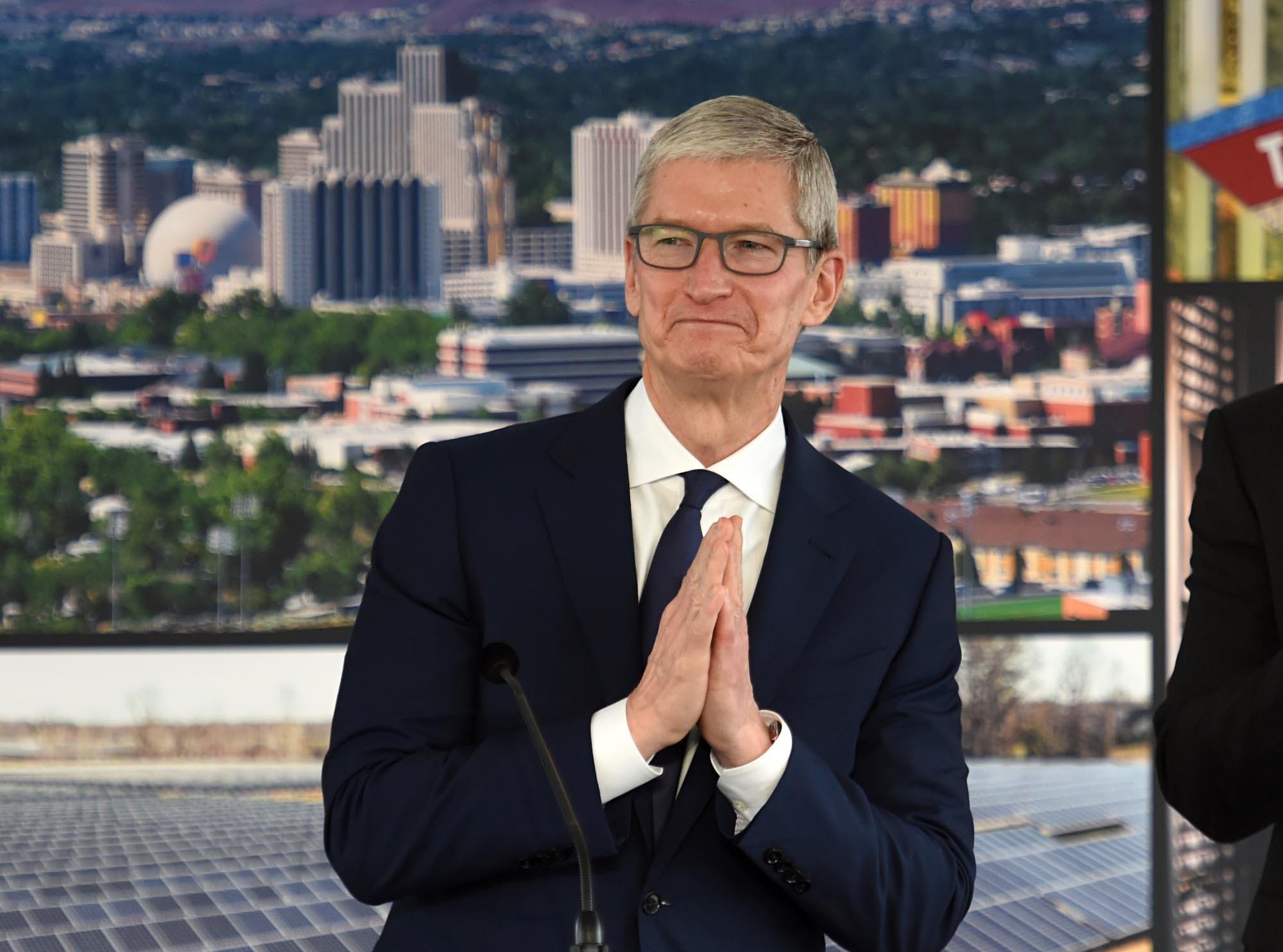 Apple completes downtown Reno warehouse, eyes data center and solar facility expansion