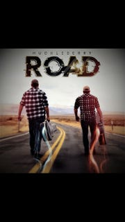 Huckleberry Road rocked out a self-titled, twangy song about riding the rebel highway.