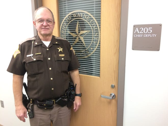 Major Mike Frame is retiring after more than 35 years with the Wayne County Sheriff's Office, including the past eight as chief deputy.