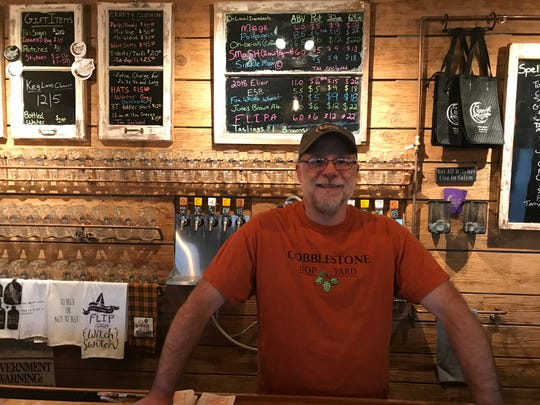 Mike Darling, owner/founder of Crafty Ales and Lagers.