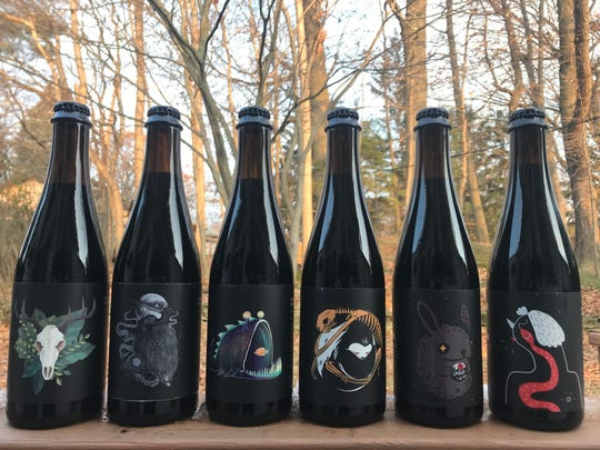 Collective Arts Origin of Darkness barrel-aged stout series