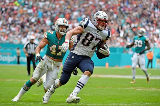 Nfl New England Patriots At Miami Dolphins