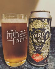 Trophy Brewing Yard of the Month cream ale