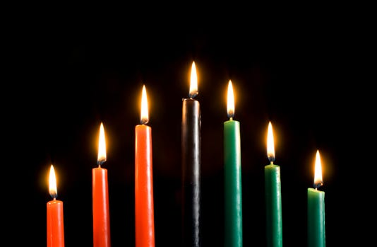Kwanzaa Candles Only