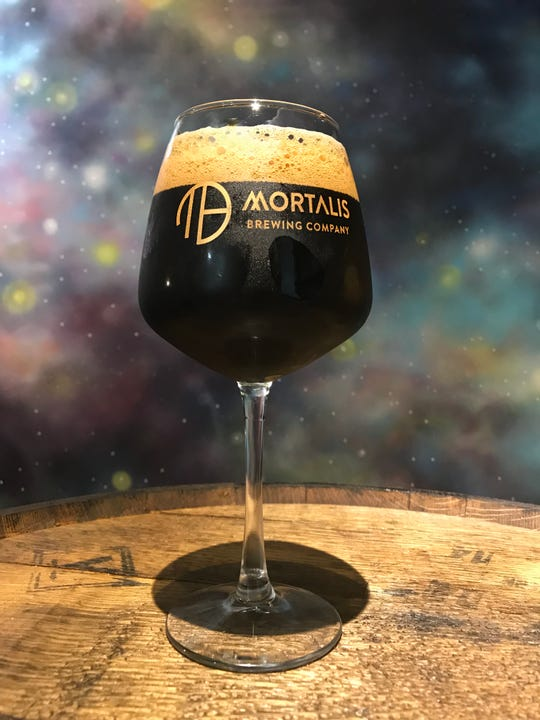 Mortalis Brewing As Above So Below imperial coffee stout