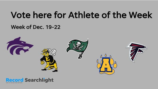 Students from Shasta, Enterprise, Burney, Anderson and Central Valley are nominated for Record Searchlight Athlete of the Week (Dec. 19-22).