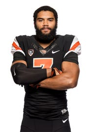 OSU linebacker Omar Speights, from Crescent Valley High School, is among four true freshmen recruits expected to enroll winter quarter.