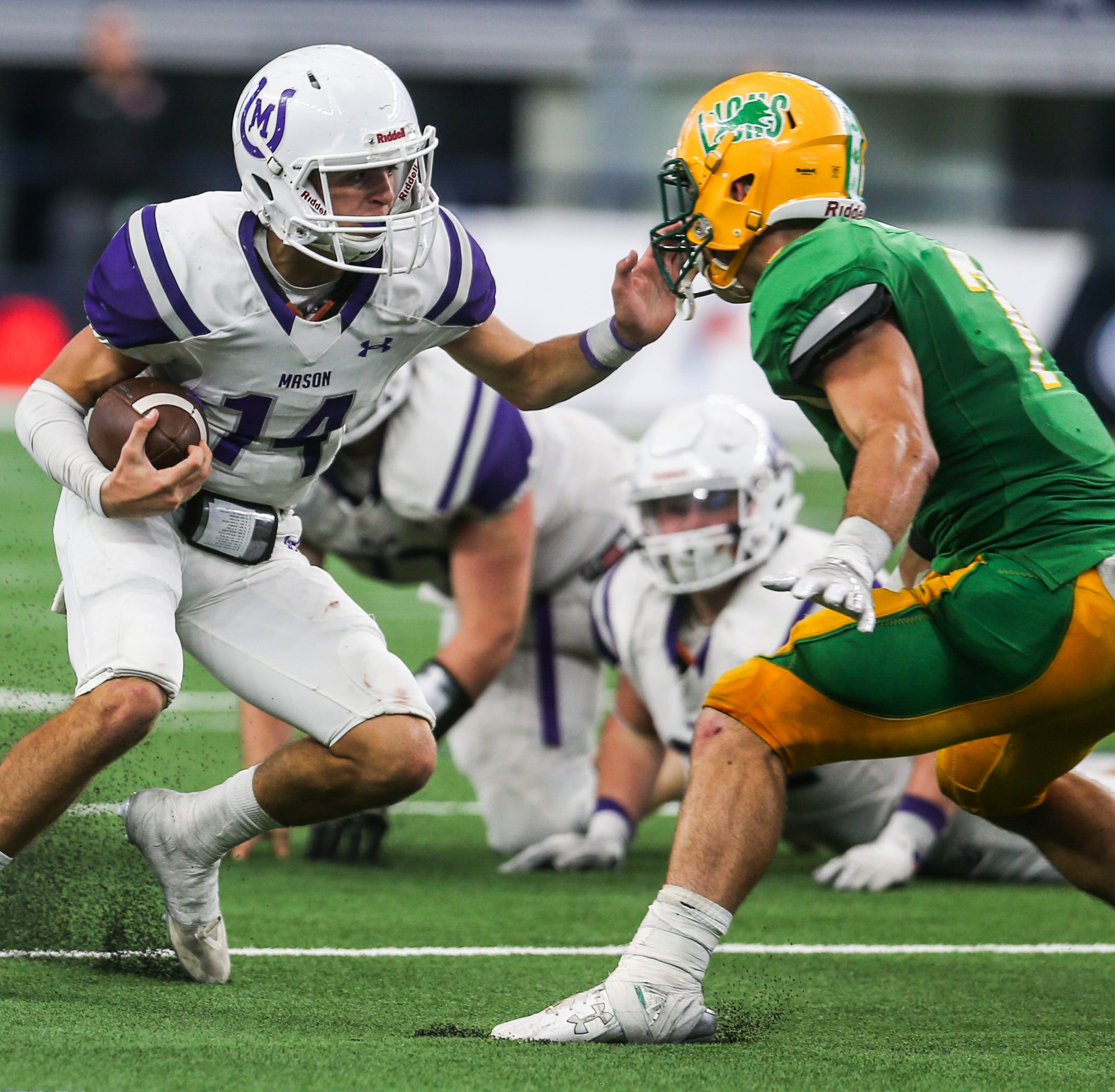 Mason quarterback Otto Wofford selects national champ Mary Hardin-Baylor