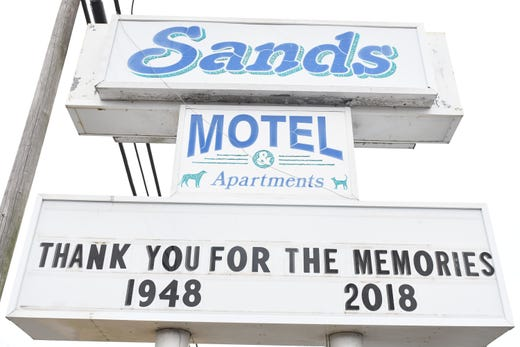 Sands Motel in Fenwick Island, Delaware, writes its own obituary