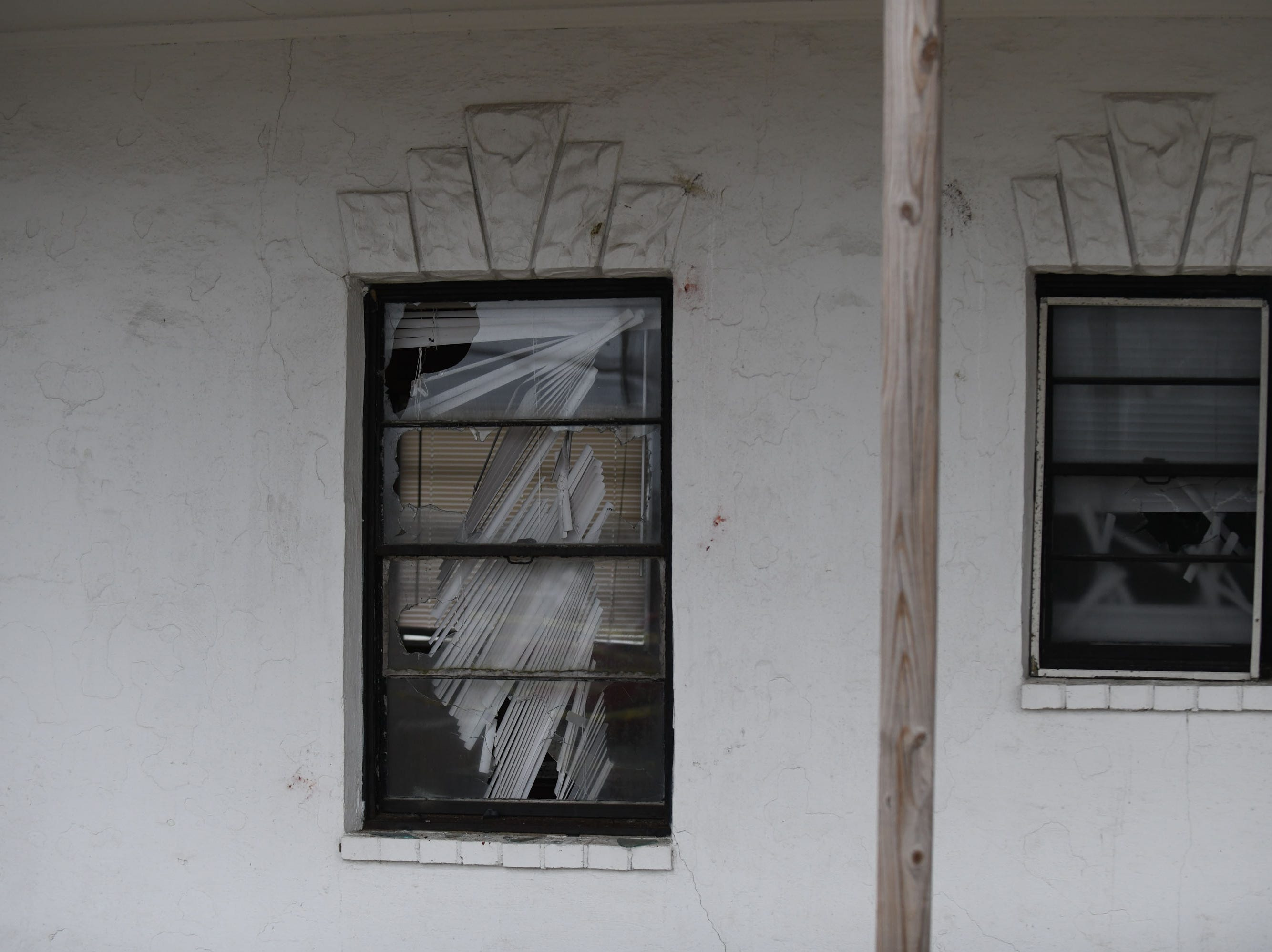 """The community said good bye to the Sands Motel located in Fenwick Island, Del. on Thursday, Dec. 20, 2018. During a """"Demo Party"""" held by the owners of the property. Anyone could come and throw rocks to help break windows before the demo begins."""