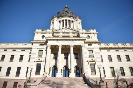 South Dakota State Capitol Wednesday, Dec. 13, in Pierre.
