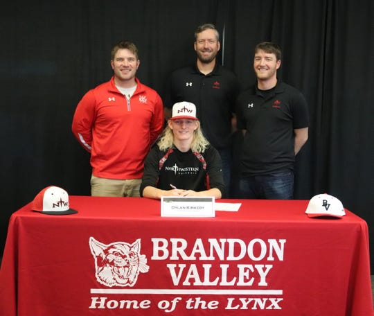 Brandon Valley: Dylan Kirkeby, Northwestern College