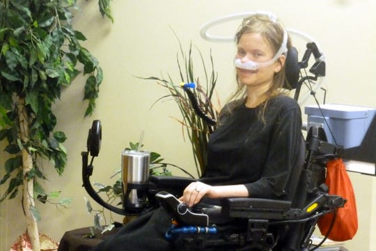 Laura Jean Pulscher of Dell Rapids was diagnosed with ALS (Amyotrophic Lateral Sclerosis) in 2016.
