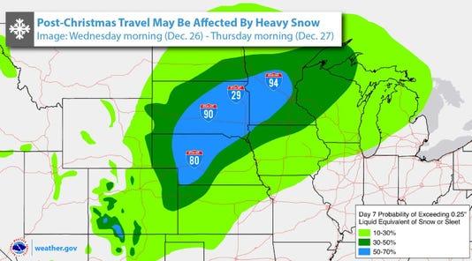 Post-Christmas Storm?
