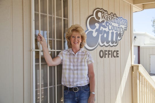 Wendy Sandberg, seen in 2014, has been the director of the Washington County Fair for 21 years. She was fired earlier this month.