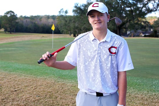 Chiles freshman Parker Bell was named the 2018 All-Big Bend Golfer of the Year in boys golf after winning the Big Bend Championship, City Championship, and District 1-3A title, which made him one of a select few in area history to win three 18-hole tournaments in the same season.