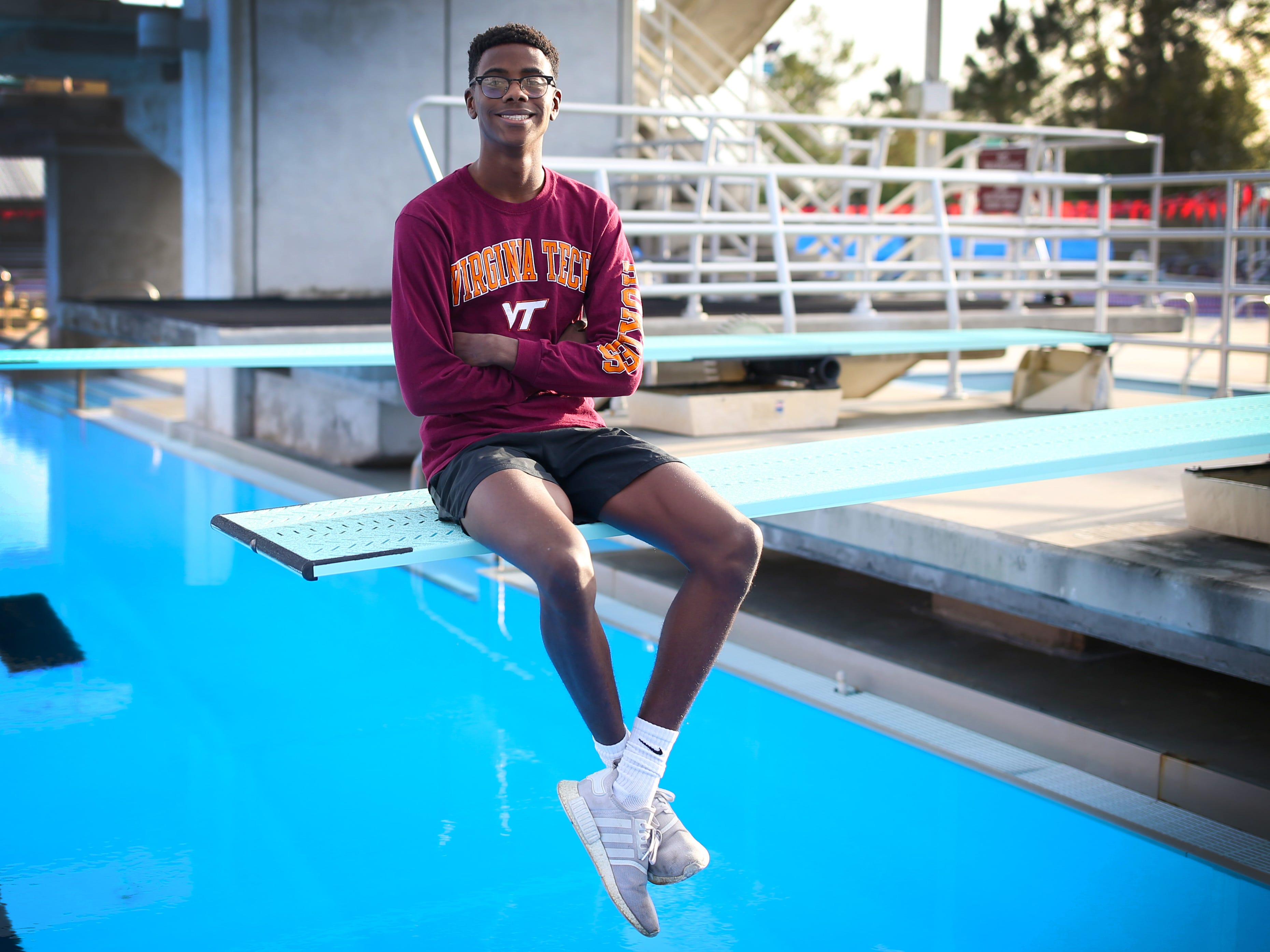 Leon senior Taj Cole was named the 2018 All-Big Bend Diver of the Year in boys swimming and diving after capturing a Class 3A state title in 1-meter diving, recording a score higher than anyone regardless of class over the previous 10 years. It is the second straight year Cole, a Virginia Tech signee, was named Diver of the Year.