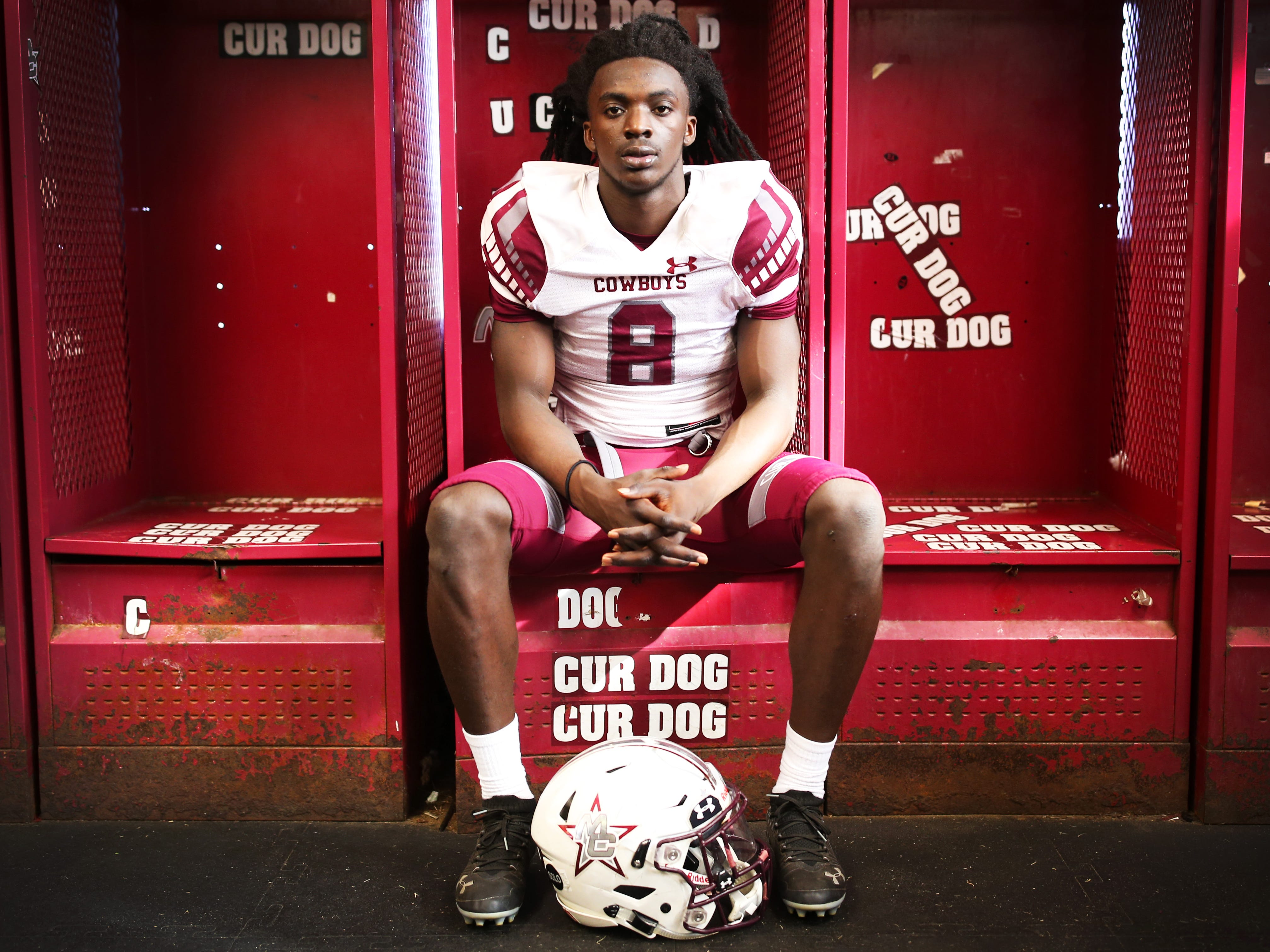 Madison County senior Travis Jay was named the 2018 All-Big Bend Offensive Player of the Year in football while playing quarterback and defensive back for a Cowboys team that went 14-1 and won a second straight Class 1A state title. Offensively, Jay, an FSU commit, threw for 1,344 yards and 13 touchdowns, and ran for 1,096 yards and 20 touchdowns. Defensively he produced 48 tackles, 5 interceptions, 15 pass breakups, and two touchdowns.