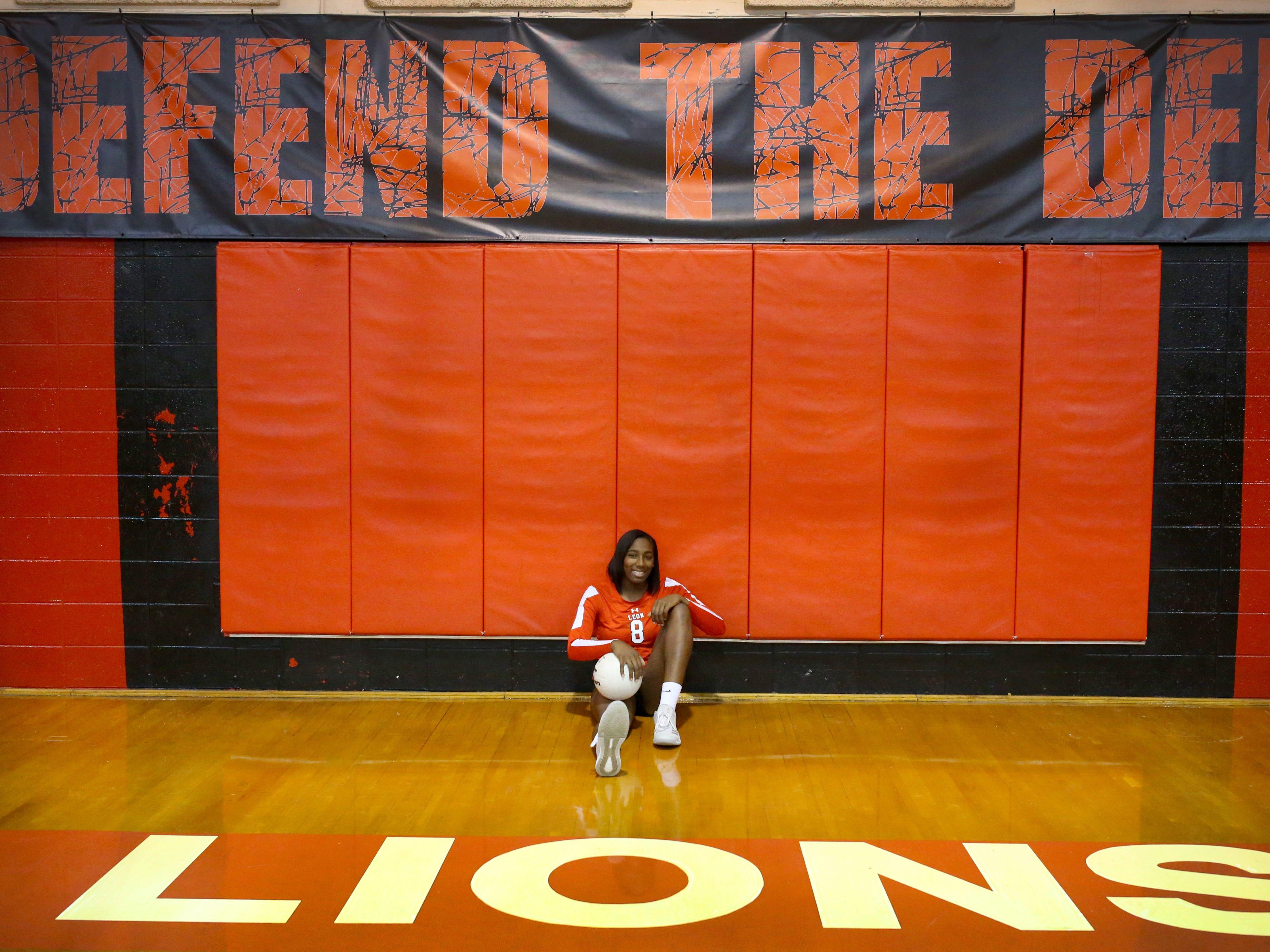 Leon senior Makayla Washington was named the 2018 All-Big Bend Player of the Year in volleyball after amassing 346 kills, 96 blocks, and 140 digs while playing six rotations as a middle blocker for a Lions team that went 27-4 and reached the Class 8A state semifinals for a fourth straight year. Washington becomes just the second player in area history to become a four-time Player of the Year.