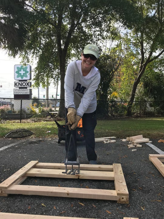 On Guardian ad Litem program hosted a bunk bed build for kids in our community who do not have beds