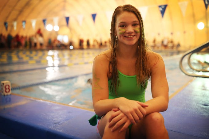 Chiles freshman Lydia Hanlon was named the 2018 All-Big Bend Swimmer of the Year in girls swimming and diving after winning a Class 3A state title in the 100-meter backstroke, taking third in the 100 butterfly, and swimming All-American times in both events.