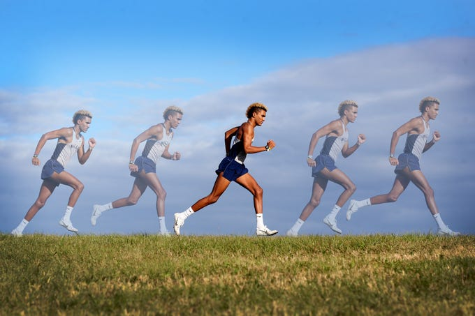 Maclay junior Jay Brown was named the 2018 All-Big Bend Runner of the Year in boys cross country after taking third place in Class 1A in 16:03, and winning five races, including district and regional titles.