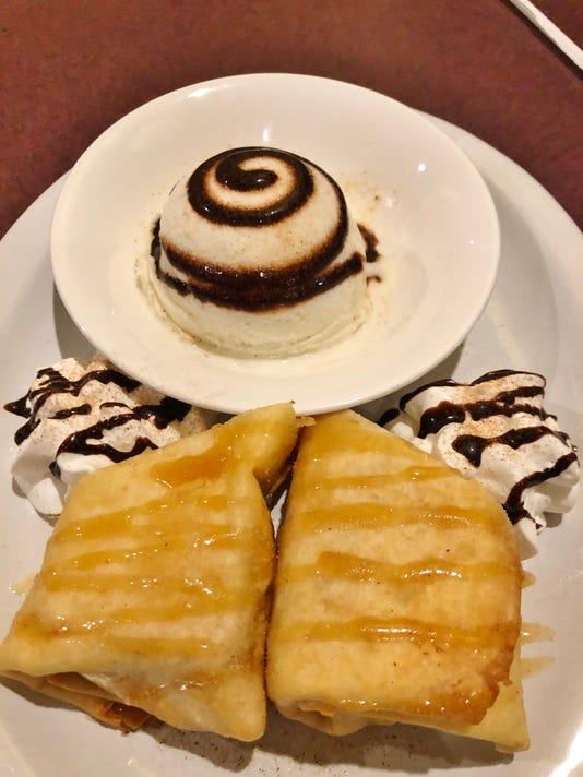Casa Azteca Cheesecake Chimichanga2 Lucie