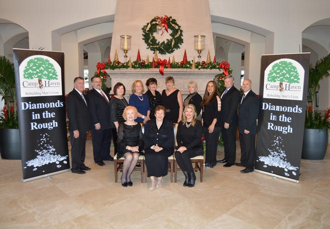 """Camp Haven's """"Diamonds in the Rough"""" gala planning committee members are, from left, seated, June Bercaw, Linda Teetz and Libby King; standing, Chuck Bradley, David Moshier, Debbie Lewis, Diana Stark, Brenda Bradley, Pat Stelz, Connie Bishop, Brenda Sposato, Brian Korkus and Jermey Gable."""