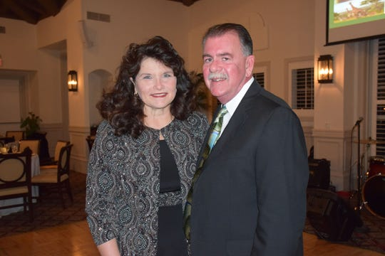"""Camp Haven """"Diamonds in the Rough"""" committee member Brenda Bradley and Camp Haven Executive Director Chuck Bradley."""