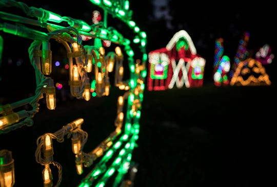 Christmas at Tara, a free drive-thru experience, features about 500,000 miniature lights and 90 figures across the lawn of the Grall Law Group property at 7555 20th St., west of Vero Beach. It runs 5:30-10 p.m. Sundays-Thursdays and 5:30-11 p.m. Fridays and Saturdays.