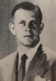 Harold C. Mossey was 38-5 in two seasons as Vero Beach's boys basketball coach, debuting with a state title in 1944.