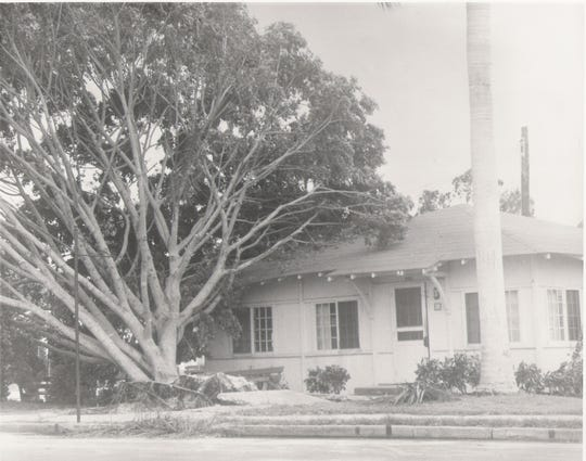 The Chamber of Commerce building in the 1930s.