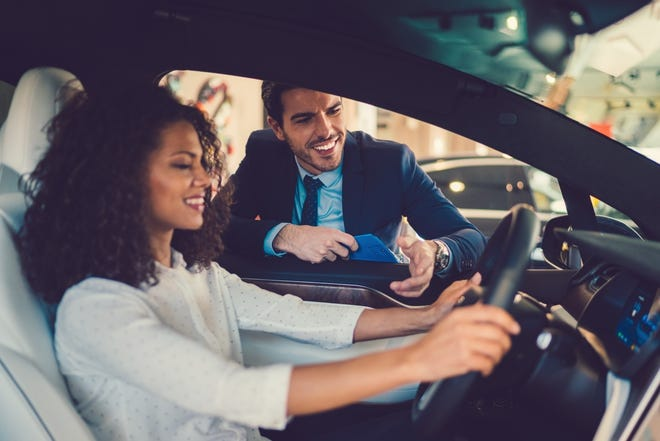 If you want to purchase a new or used vehicle or lease a new car, research what the dealers offer and the details of owning or leasing to see what fits best into your budget, needs and wants.