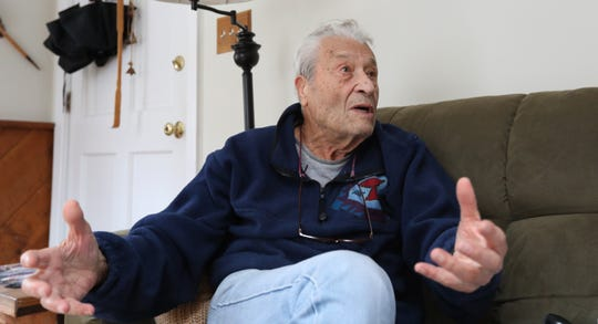 """Hal Stan says he learned something about charity on his long walk: """"These evangelists, their mission in life is to help those who are needy. When I realized I wasn't making them happy, I said I'd take the money and the food and sometimes a place to sleep."""""""