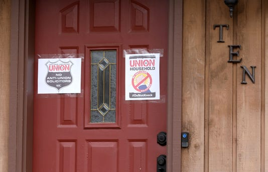 Pro Union Households