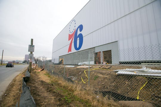 Construction delays have pushed the Delaware Blue Coats' opening game in the new 76ers Fieldhouse to Jan. 23.
