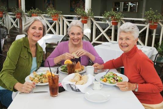 3 Ladies Eating