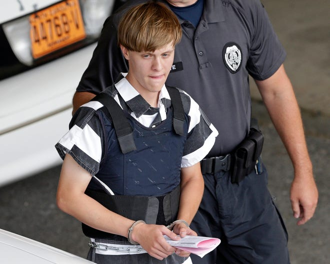 Dylann Roof in Shelby, North Carolina, on June 18, 2015.