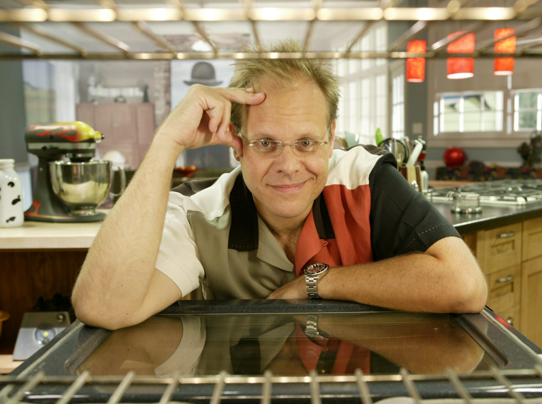"""Alton Brown as host of """"Good Eats"""" (Food Network); July 7, 1999-May 2, 2011"""
