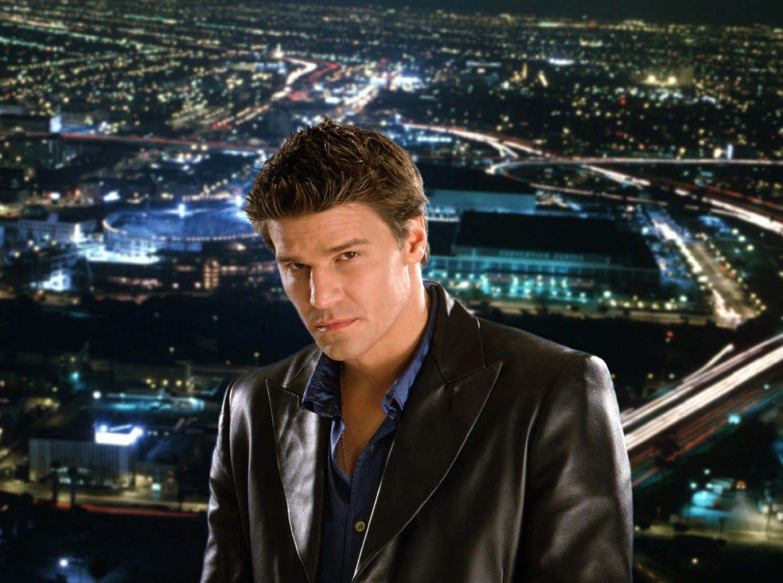 """David Boreanaz as """"Angel"""" (WB); Oct. 5, 1999-May 19, 2004"""